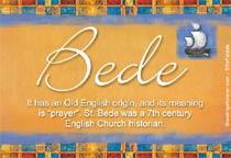 Name Bede