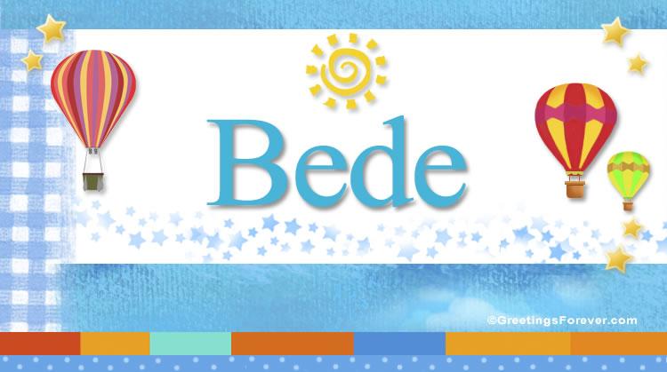 Bede, imagen de Bede