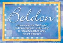 Name Beldon