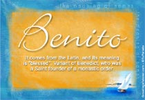 Name Benito