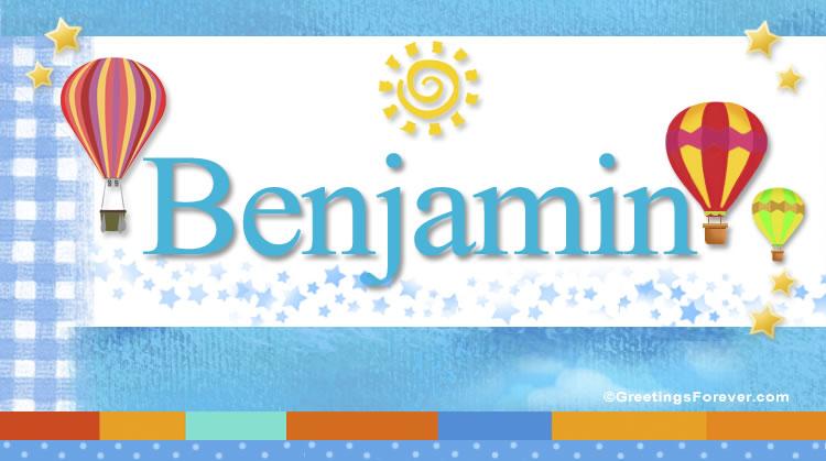 Benjamin, imagen de Benjamin