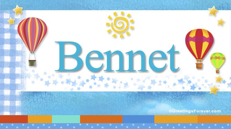 Bennet, imagen de Bennet