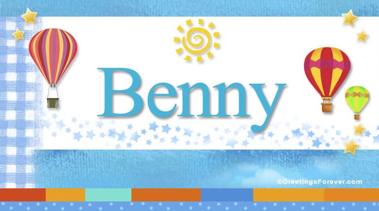 Benny, imagen de Benny