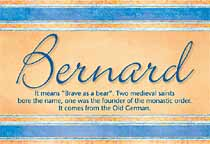Name Bernard
