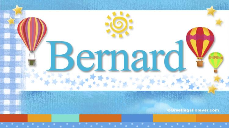 Bernard, imagen de Bernard