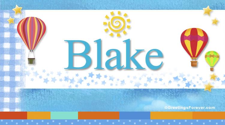 Blake, imagen de Blake