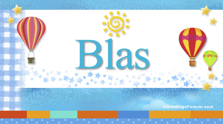 Blas, imagen de Blas