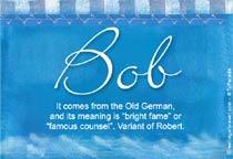 Name Bob