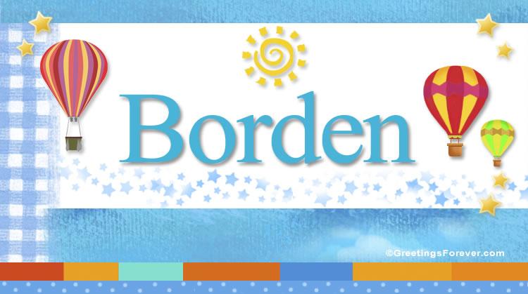 Borden, imagen de Borden