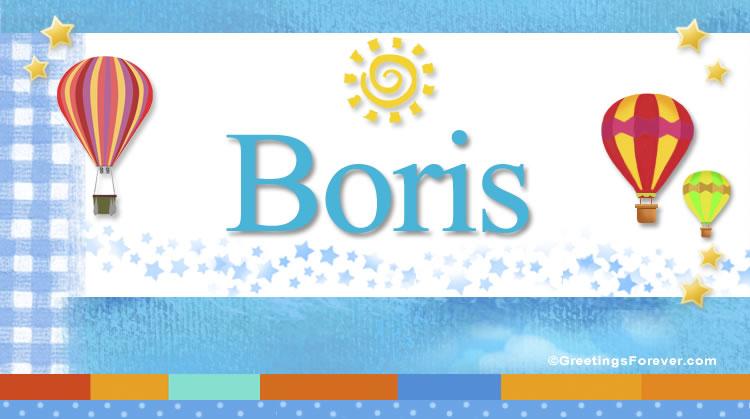 Boris, imagen de Boris