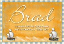 Name Brad