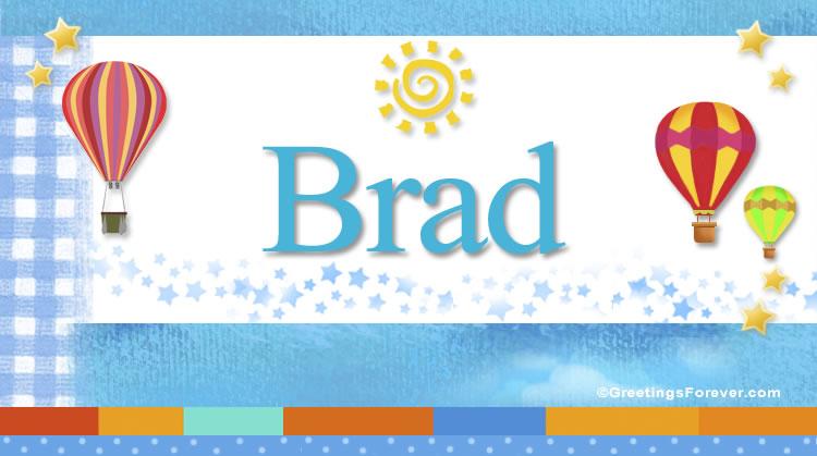 Brad, imagen de Brad