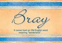 Name Bray