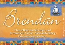 Name Brendan