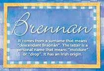 Name Brennan