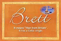Name Brett