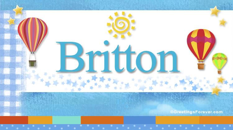 Britton, imagen de Britton