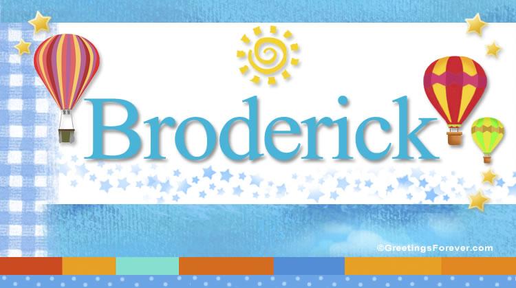 Broderick, imagen de Broderick