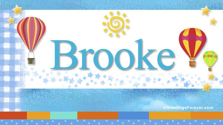 Brooke, imagen de Brooke