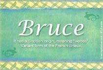 Name Bruce