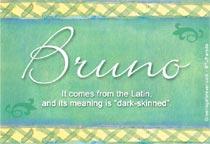 Name Bruno