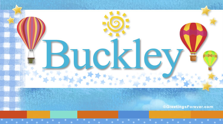Buckley, imagen de Buckley