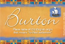 Name Burton