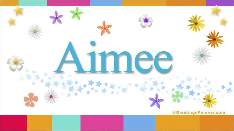 Aimee, imagen de Aimee