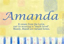 Name Amanda