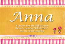 Anna Name Meaning