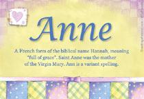 Name Anne