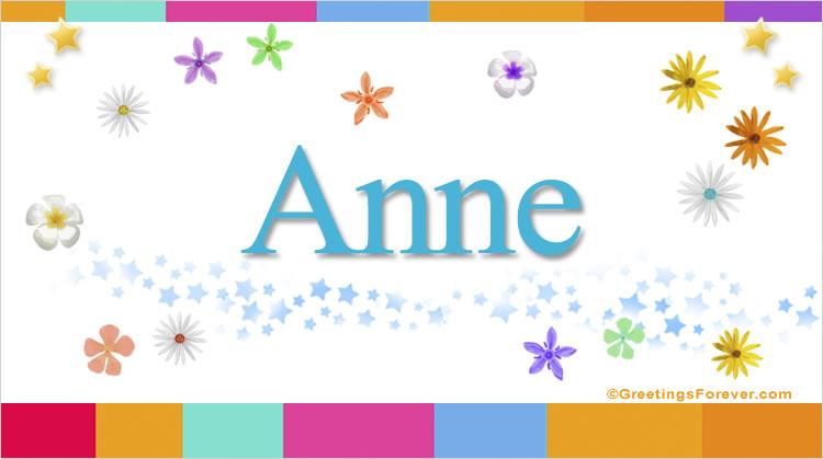 Anne, imagen de Anne