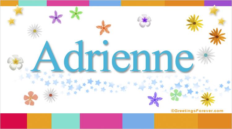 Adrienne, imagen de Adrienne