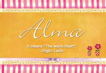 Name Alma