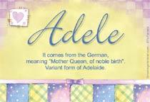 Name Adele