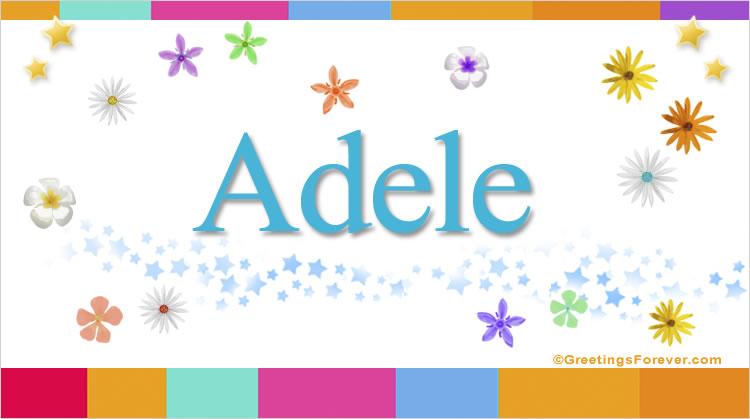 Adele, imagen de Adele