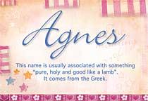 Name Agnes