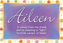 Name Aileen