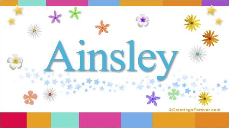 Ainsley, imagen de Ainsley