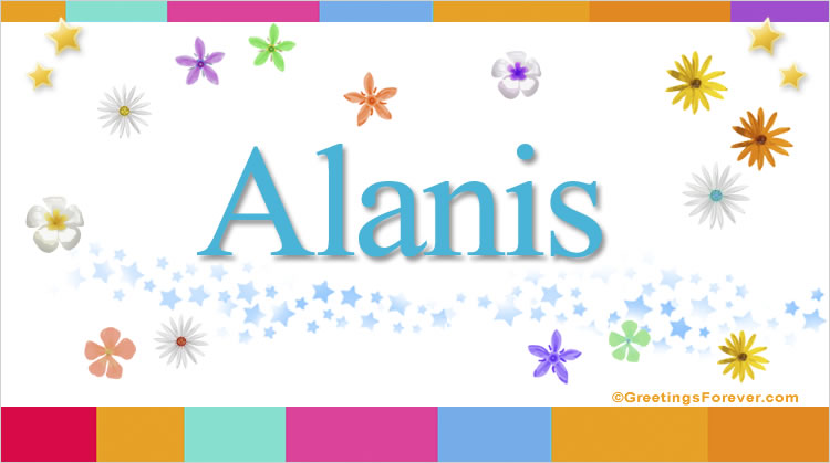 Alanis, imagen de Alanis