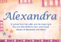 Name Alexandra