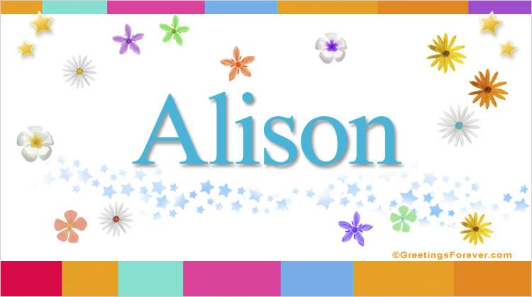 Alison, imagen de Alison