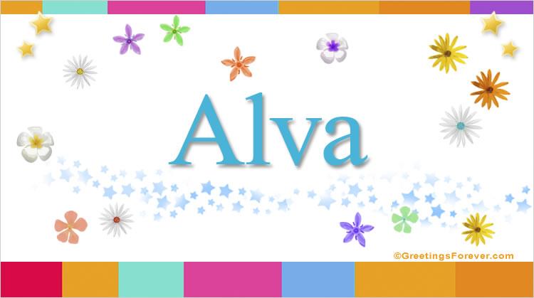 Alva, imagen de Alva