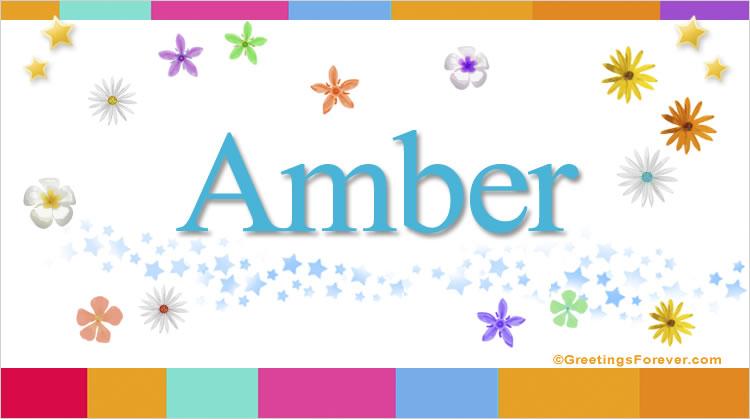 Amber, imagen de Amber