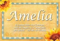 Name Amelia