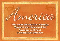 Name America