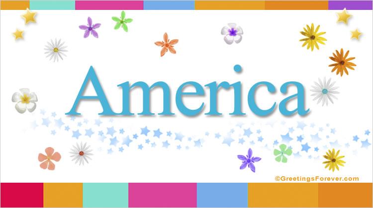 America, imagen de America