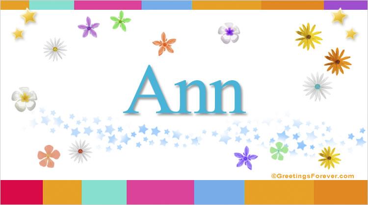 Ann, imagen de Ann