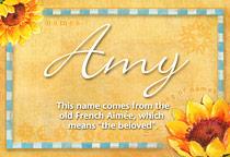 Name Amy