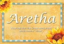 Name Aretha